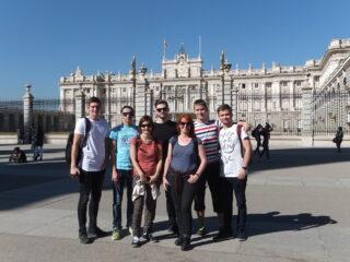 První výměnný pobyt vLas Rozas (Madrid)