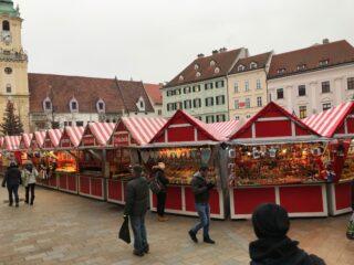 Vánoční trhy vBratislavě